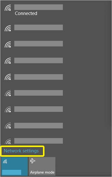 Choose-the-network-settings-from-the-popup-menu