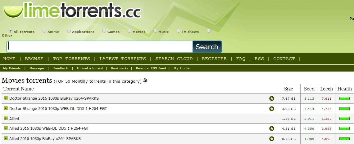 limetorrents.cc unblocked