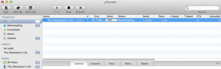uTorrent or BitTorrent for Mac OSX