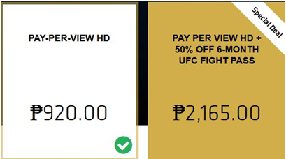 Cheapest way to watch ufc