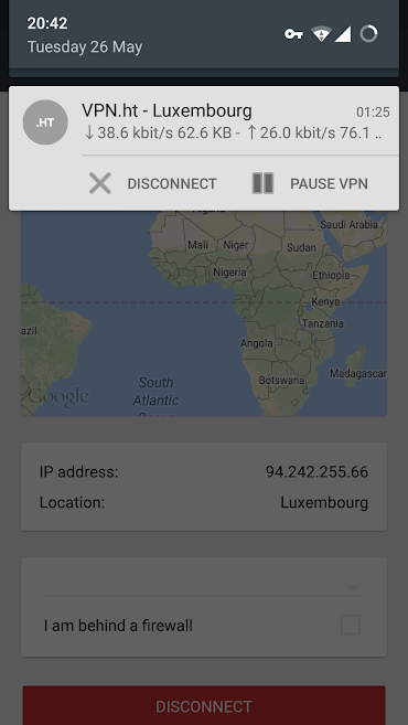VPN.ht-Android-App-connected