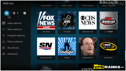 how to download shows using kodi
