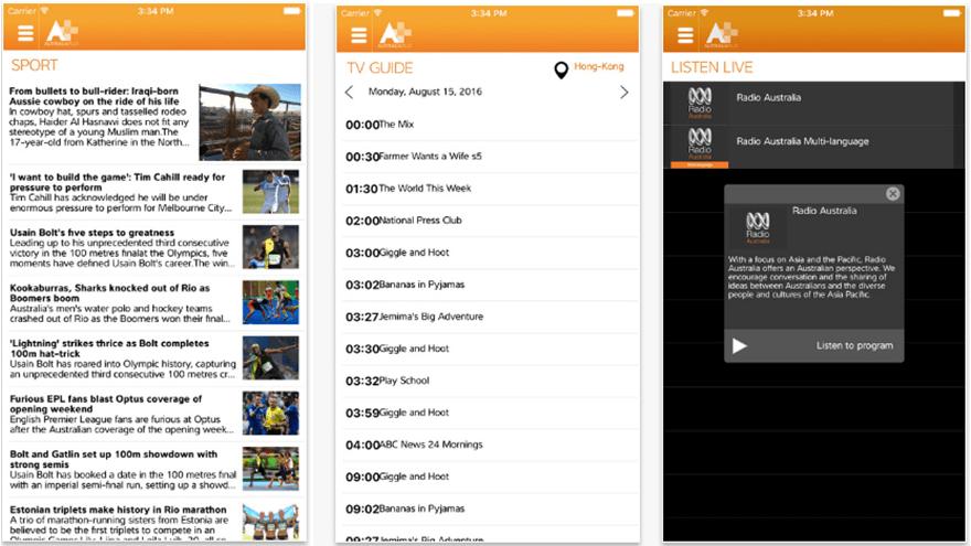 Australia Plus App for Android & iOS Devices