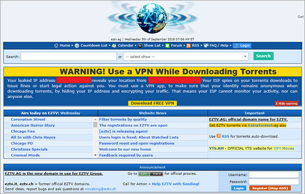 EZTV-is-an-extratorrent-alternative-for-