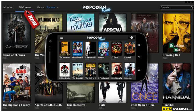 how to install popcorn time vpn on androide