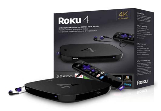 Roku Ultra 4 kodi Box