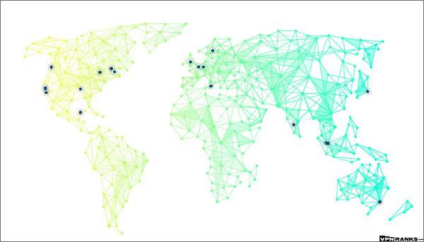 Wide-Spread-Server-Locations