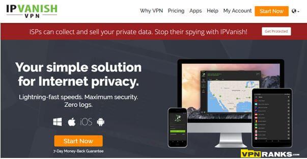 ipvanish Spotflux Alternative for iPhone, iPad & IOS Devices