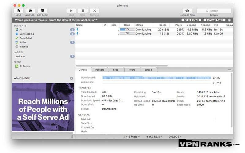 deluge vs utorrent internet tools