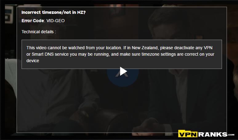 Watch TVNZ outside New Zealand Using VPN