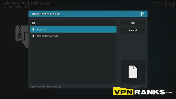 Install SALTS on Kodi step 4