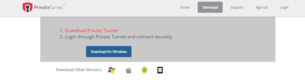 Private Tunnel VPN Compatibility Review