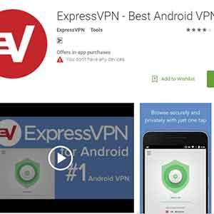 ExpressVPN-android-app