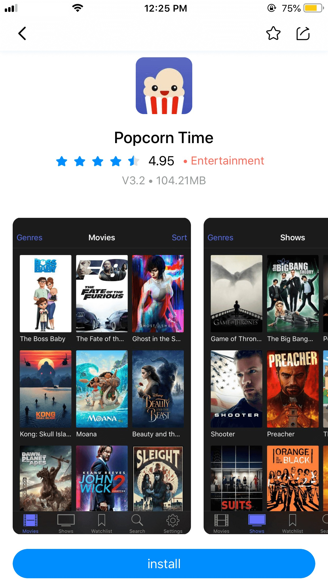 2018's Ultimate Guide to Install Popcorn Time iOS | Without
