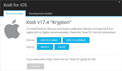 Download Kodi from Official Website