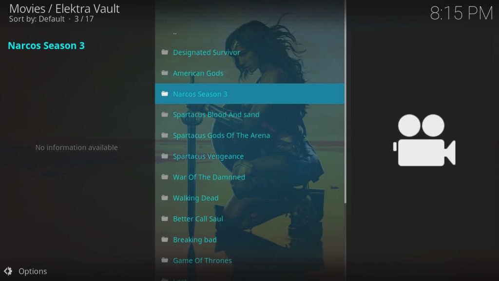 How to Install Elektra Vault on Kodi Step 6