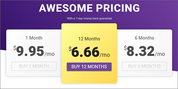 VPNSecure-Pricing-Policy