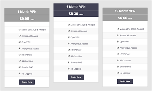 VPNSecure Review Pricing