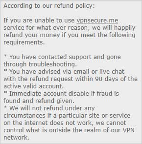 VPNSecure-Review-Refund-Policy