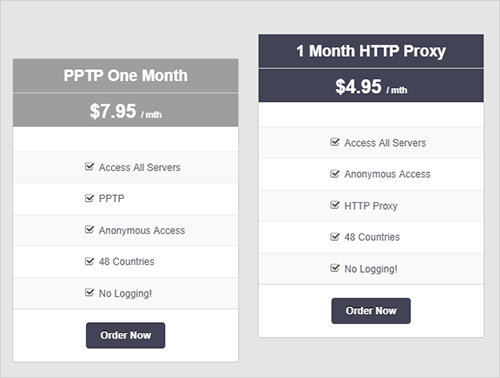VPNSecure Review one month pptp & HHTP package