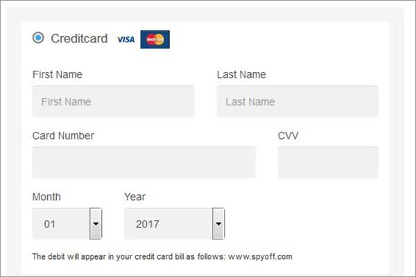 Payment-Methods-of-SpyOFF-VPN