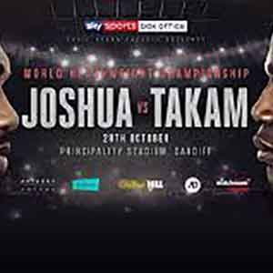 How to Watch Anthony Joshua vs. Carlos Takam from Anywhere