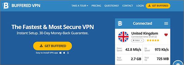 Buffered VPN for BBC Iplayer