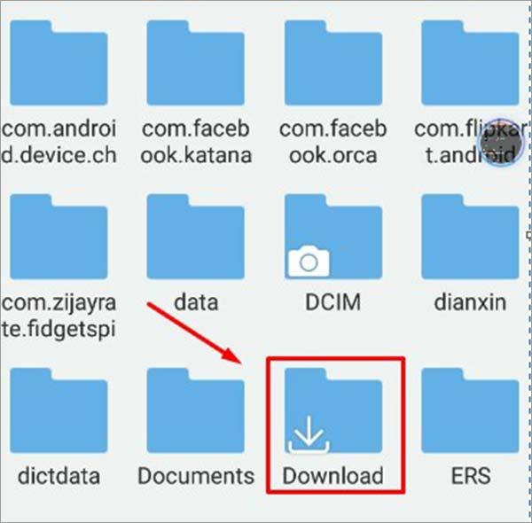 Download-folder-for-installing-Kodi-on-Chromebook