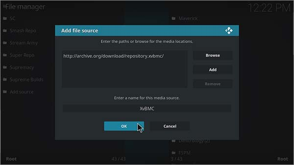 how to add covenant to kodi