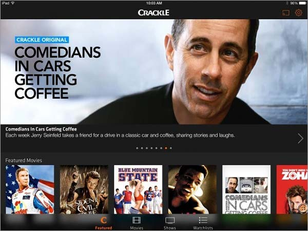 Watch-Crackle-on-Chromecast-through-iPhone