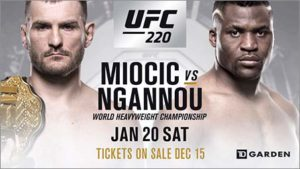 Cheapest Ways to Watch UFC 220 Miocic vs Ngannou Online Live