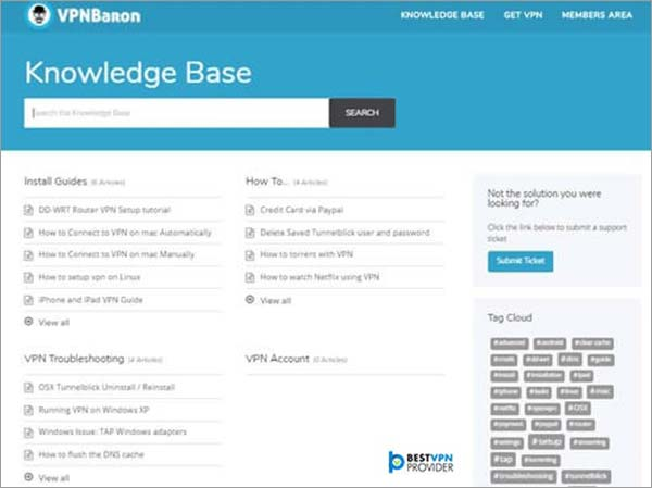 Knowledgebase-Review-of-VPNBaron