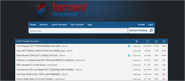 TorrentDownload-Best-Torrent-Site