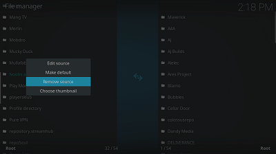image for addons of kodi issue