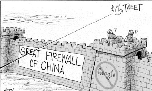 伟大的中国防火墙