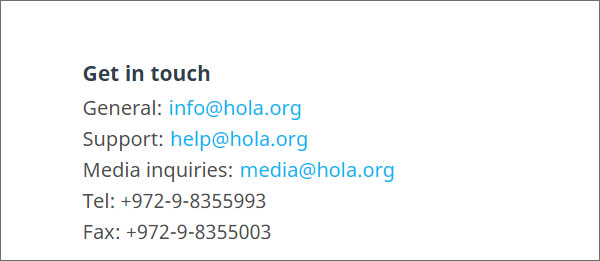 Customer-Support-Review-Hola-VPN