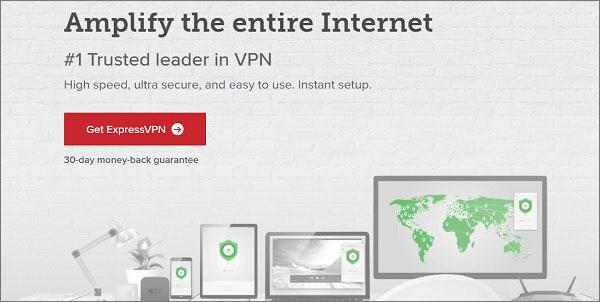 ExpressVPN是个信誉的VPN提供商