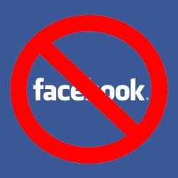 Facebook禁令