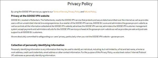Goose-VPN-Privacy-Policy