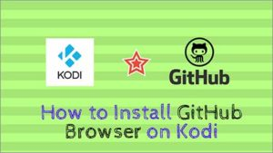 How to Install GitHub Browser 17.6 on Kodi with TV Addons Repository