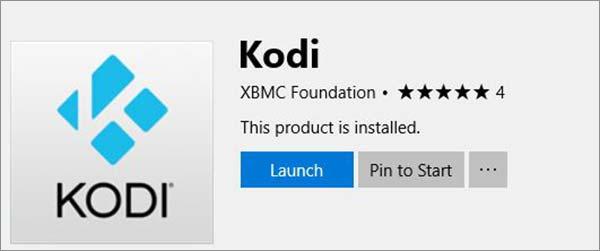 How to Update Kodi on Windows Using Windows Store Step-4