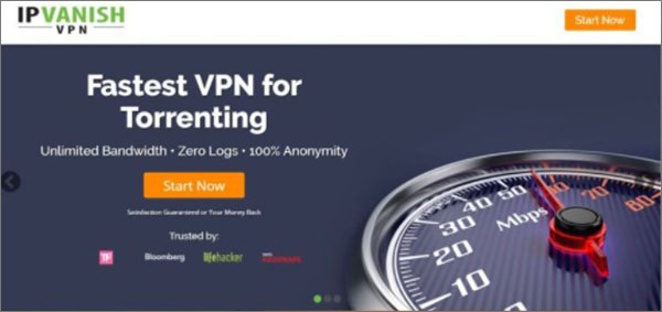 IPVanish为Torrenting