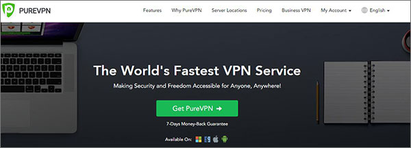 PureVPN - Best VPN for Japan