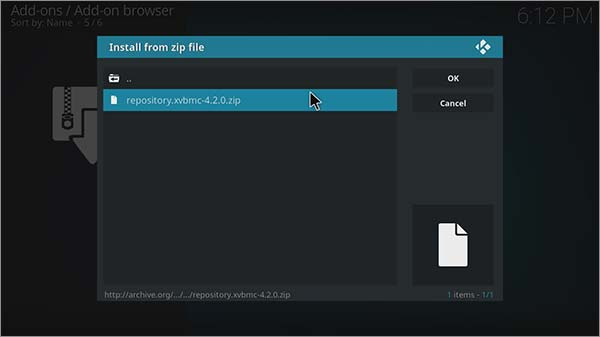 Step-5-How-to-install-SportsDevil-Kodi-with-XvBMC-Repo