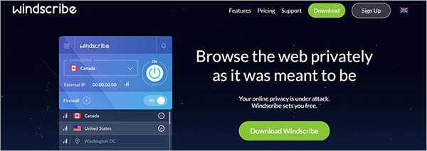 Windscribe-VPN-Website-Review