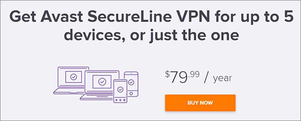 How to get rid of avast secureline vpn