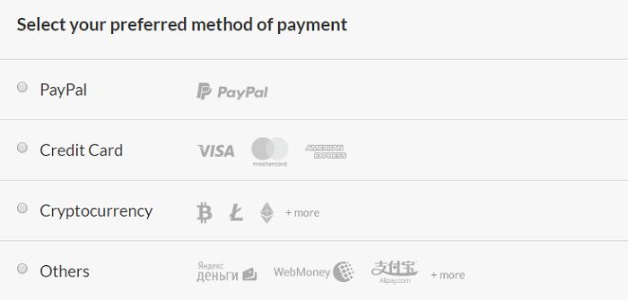 CactusVPN-Payment-Methods