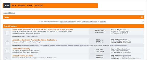 Community-Forum-Avast-SecureLine-VPN