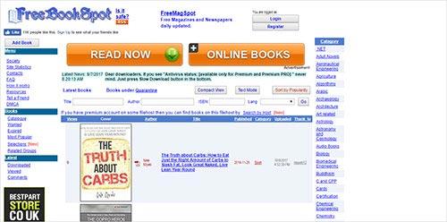 FreeBookSpot Meilleurs-sites-de Torrent-pour-les livres