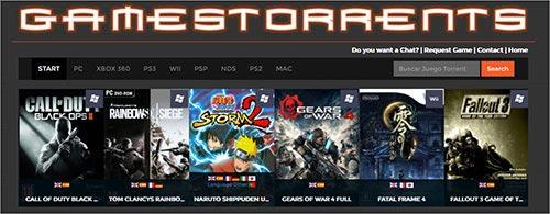 GamesTorrents pour le jeu